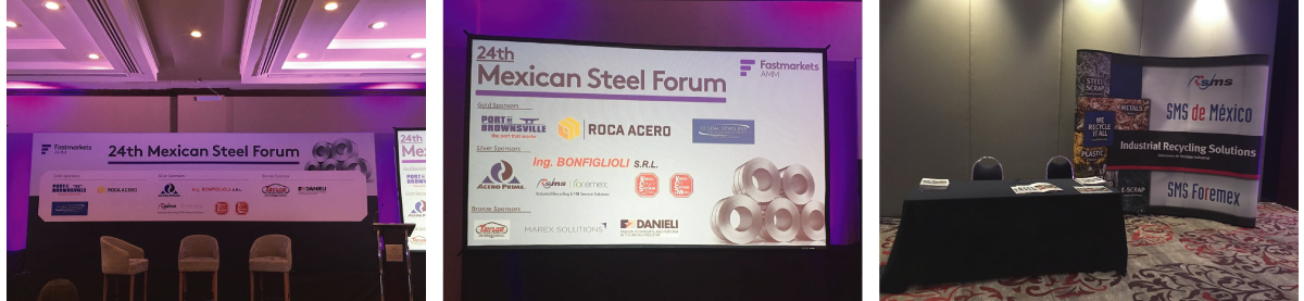24th Mexican Steel Forum, SMS Foremex